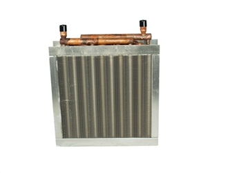125,000 btu water to air heat exchanger