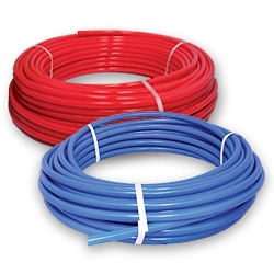 "1"" x 300' roll of pex waterline"