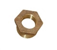 "1"" x 1/2"" brass reducer bushing"