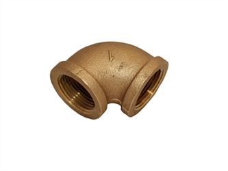 "1"" fpt brass 90 degree elbow"