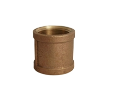 "1-1/4"" brass coupler"