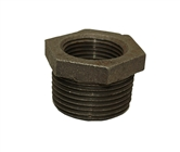"3/4"" x 1"" black reducer bushing"