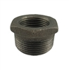 "1"" x 1/2"" black reducer bushing"