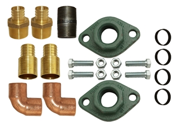 forced air fittings kit