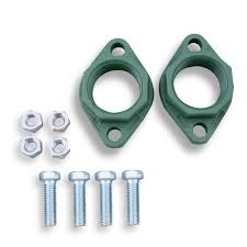 "1 set of taco 1-1/4"" cast iron pump flanges"