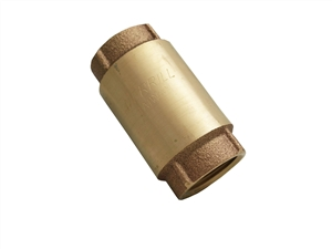 "1"" fpt brass swing check valve"