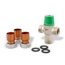 "taco 5000 series 1"" sweat 3 way tempering valve"