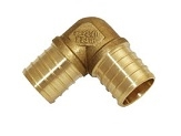 "1-1/4"" pex 90 degree elbow crimp"