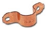 "Copper 3/4"" Tube Strap"