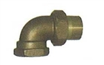 "Sweat 3/4"" Union Elbow"