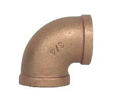 "Brass 1/2"" 90 Degree Elbow"