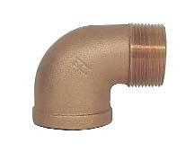 "Brass 1"" 90 Degree Street Elbow"