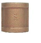 "Brass 1-1/4"" Coupling"