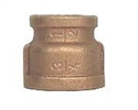 "brass 3/4"" x 1/2"" reducing coupling"