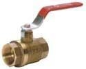"Forged Brass 1-1/4"" Ball Valve"