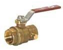 "Forged Brass 1"" 800 Series Ball Valve"