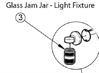 Empyre Cozeburn Boiler 250 Glass Jam Jar Light