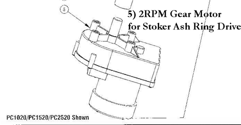 Pelco-Boiler-GearMotor-2RPM-Ash-Ring-Drive-Assembly