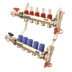 Stainless Steel M-8300 4 Port Manifold