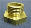Auger Bushing Top Brass with Threads
