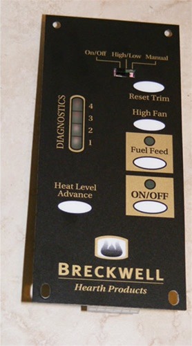 Breckwell Digital 1rpm Circuit Board  Replacement