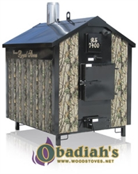 Crown Royal RS7400 Outdoor Biomass Boiler
