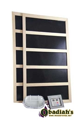 Infrared Digital Sauna Heater Packages