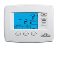 "3H/2C 7-Day Programmable Thermostat - 4"" LCD"