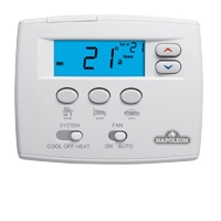 1H/1C EZ Set Non-Programmable Thermostat