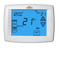 3H/2C 7-Day Programmable Thermostat - 12 sq in Touchscreen