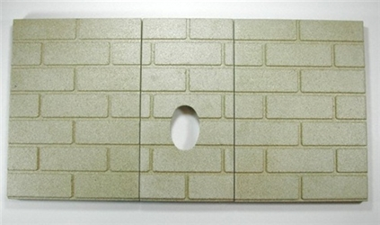 3pc Premium Fire-Tek Firebrick for Whitfield Legend