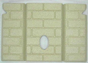 3pc Premium Fire-Tek™ Firebrick Set for Whitfield Advantage II, II-T, and III