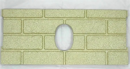 1pc Premium Fire-Tek Firebrick Set for Whitfield Quest