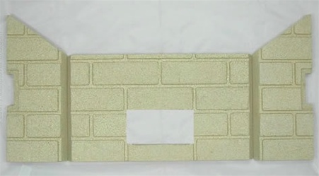 3pc Premium Fire-Tek Firebrick Set for Whitfield Advantage Plus