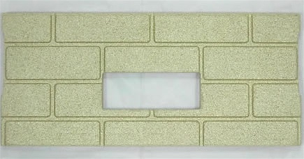 1pc Premium Fire-Tek Firebrick Set for Whitfield Quest Plus