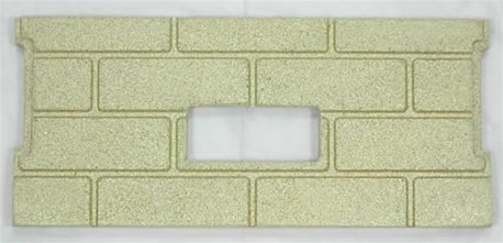 1pc Premium Fire-Tek Firebrick Set for Whitfield Profile 20 / Adv. OP 2