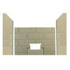 3pc Premium Fire-Tek™ Firebrick Set for Summit Series II FS