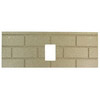 1pc Premium Fire-Tek Firebrick Set for Englander
