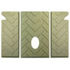 Whitfield 3 pc Premium Herringbone Firebrick