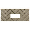 1 pc Premium Herringbone Fire-Tek Firebrick for Whitfield Quest Plus