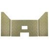 3 pc Premium Herringbone Fire-Tek ™ Firebrick for Traditions® T-300P