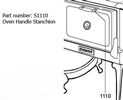 Heartland Door Handle Stanchion