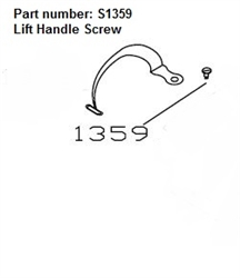 Heartland Lift Handle Screw and Nut