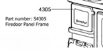 Heartland Firedoor Panel Frame - discontinued