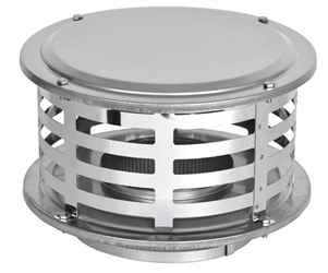 6 inch Ventis 430 SS Class-A Solid Fuel Chimney Rain Cap