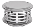 8 inch Ventis 430 SS Class-A Solid Fuel Chimney Rain Cap