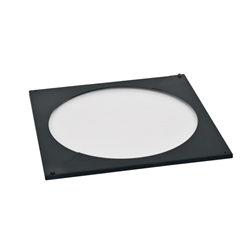 Ventis 8 inch Square Trim Plate for Round Ceiling Supports