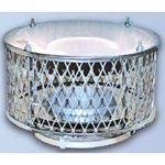 6 inch Ventis 304L Class-A Solid Fuel Chimney Diamond Rain Cap