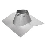 8 inch Ventis 304L Class-A Solid Fuel Chimney Vented Peak Style Flashing