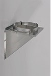 6 inch Ventis Class-A Solid Fuel Chimney Galvanized Tee Support